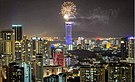 2018 Novoroční ohňostroj v George Town, Penang.jpg