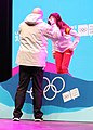 2020-01-13 Ski Mountaineering at the 2020 Winter Youth Olympics – Women's Sprint – Medal ceremony (Martin Rulsch) 28.jpg