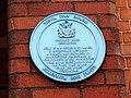 2020 at Yeovil Bus Depot - Petter's plaque.JPG