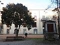 202 Plaça de M. Àngels Anglada (Vic), al fons l'Institut del Teatre, antic Seminari Diocesà.jpg