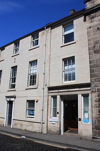 Arthur Perigal - Perigal's house at 21 Hill Street, Edinburgh