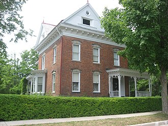 National Register of Historic Places listings in Williams County, Ohio - Image: 234 Lynn Street in Fountain City, Bryan