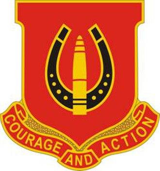 17th Field Artillery Brigade (United States) - Image: 26 FA Rgt DUI