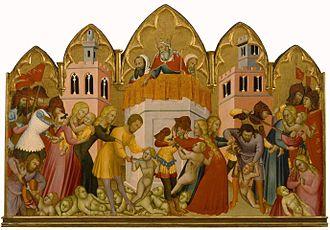 Andrea di Bartolo - Massacre of the Innocents.