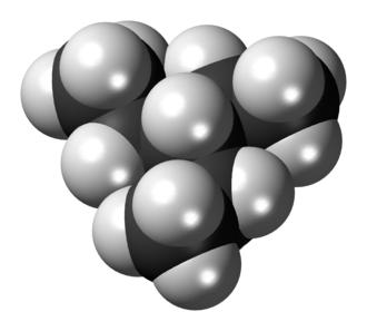 3-Ethylpentane - Image: 3 Ethylpentane 3D spacefill