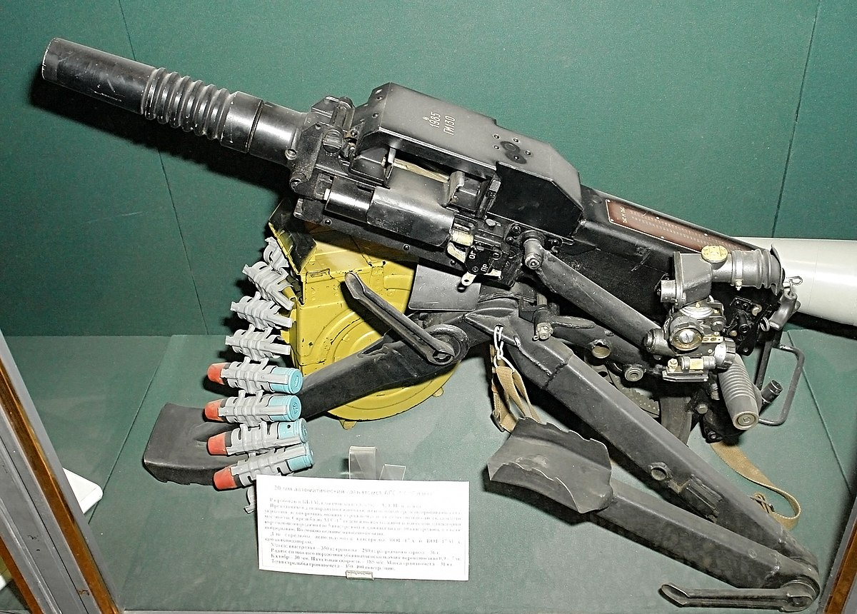 AGS-17: technical specifications. Grenade Launcher AGS-17 Flame 63