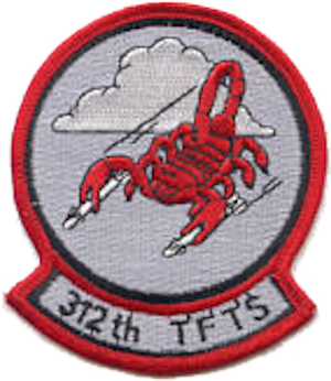 312th Tactical Fighter Training Squadron - Image: 312th Tactical Fighter Training Squadron Emblem