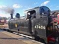 31I10I2018 British Railways Class 3F Jinty No 47406 Visits NVR A3.jpg