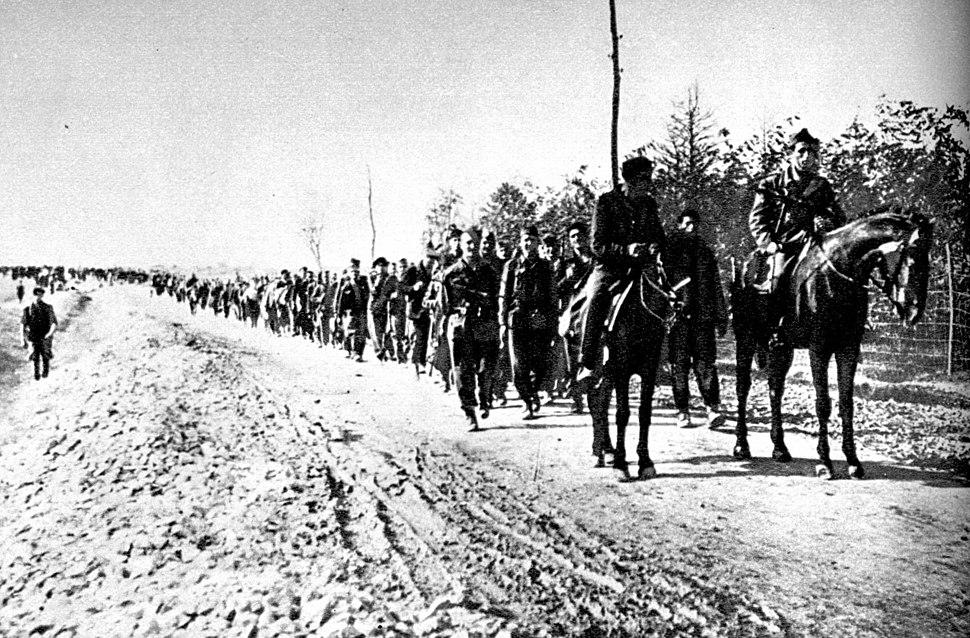 32. srpska brigada ulazi u Obrenovac