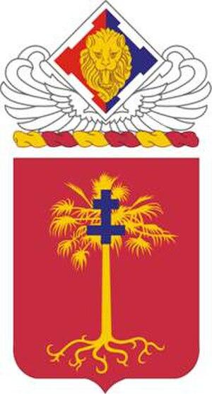 1st Battalion, 320th Field Artillery Regiment - 320th Field Artillery Regiment coat of arms