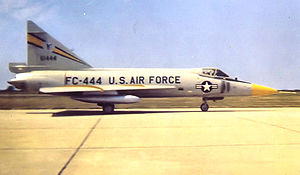 326th Fighter-Interceptor Squadron - 326th FIS F-102 56-1444 about 1960
