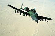 355th Tactical Fighter Squadron - A-10 Desert Storm - 1991