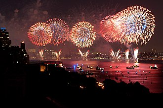 370 Riverside Drive - Image: 370 rsd fireworks red