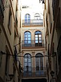 428 Passatge Franquet (Tortosa), des del c. Ciutat.JPG
