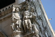 4401 - Venezia - Pietro Lamberti o Nanni di Bartolo, Giudizio di Salomone - Foto Giovanni Dall'Orto, 30-Jul-2008