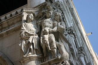 Judgment of Solomon - Image: 4401 Venezia Pietro Lamberti o Nanni di Bartolo, Giudizio di Salomone Foto Giovanni Dall'Orto, 30 Jul 2008