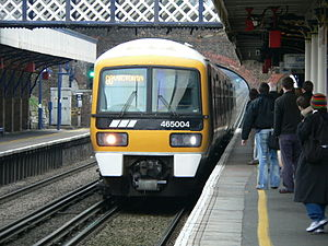 Beckenham Junction station - Beckenham Junction in 2006 with a Networker