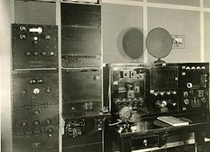 ABC Capricornia - control room in 1931