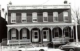 John Mitchell Jr. - A photograph from 1978 of 515 North Third St., Mitchell Jr.'s home in 1884