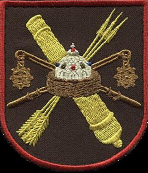 53rd Anti-Aircraft Rocket Brigade - Brigade's shoulder sleeve insignia
