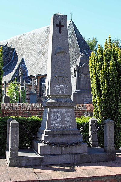 Monument aux Morts - Grand-Rue, 59 Cobrieux
