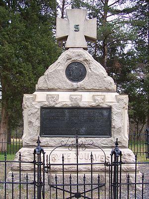 5th New York Volunteer Infantry - The memorial of the 5th New York Volunteer Infantry, erected at Manassas September 29, 1906.