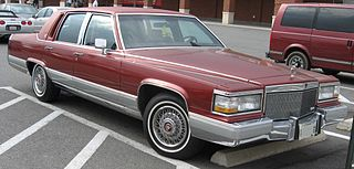 Cadillac Brougham line of luxury cars