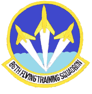 86th Flying Training Squadron - Image: 86 Flying Training Sq emblem (1973)