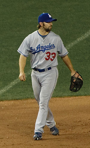 Blake DeWitt - DeWitt with the Los Angeles Dodgers in 2009