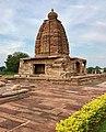 8th century Galaganatha temple, Pattadakal monuments Karnataka 5.jpg