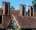 9. The Chimneys of the Main Building above the roof of the Northeast subsidiary building DSC 1074.jpg