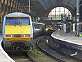 91125 and 43480 London King's Cross (13156987124).jpg