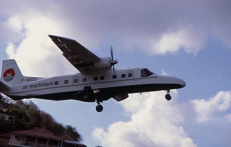 File:940400 SLU 79 Castries Do 228 Air Martinique F OGOZ take off.jpg