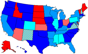 United States House of Representatives elections, 1974 - Image: 94 us house membership