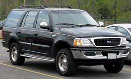 Un Ford Expedition 1997-98