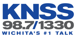 KNSS-FM news/talk radio station in Clearwater, Kansas, United States