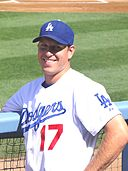 A. J. Ellis with Los Angeles Dodgers