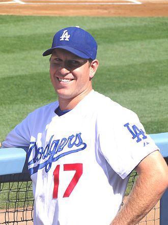 A. J. Ellis - Ellis with the Los Angeles Dodgers