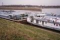 A0k031 Ned Merrick with asphalt barges at McAlpine Locks (21877794782).jpg