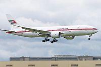 A6-ALN - B772 - Abu Dhabi Amiri Flight