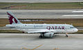 A7-CJB A319-133LR Qatar Airways (5561141766).jpg
