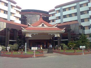 Amrita Institute of Medical Sciences Hospital in Kerala, India
