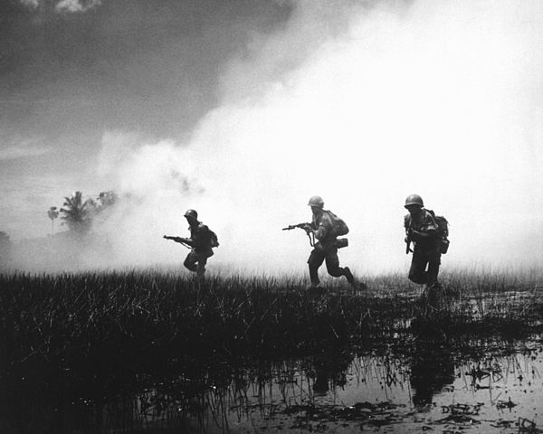 Soldiers in Vietnam War