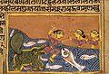 A Dolphin (Shishumara) Attacks a Woman, Folio from a Yashodhara Charita (Life of Yashodhara) LACMA M.90.86.1.jpg
