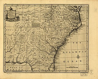 A new accurate map of the provinces of North & South Carolina, Georgia, Florida, and Louisiana in 1752.jpg