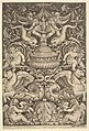 A panel of ornament with a large jar in centre, putti and other figures MET DP824498.jpg