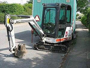 Bobcat Company - A Bobcat compact excavator