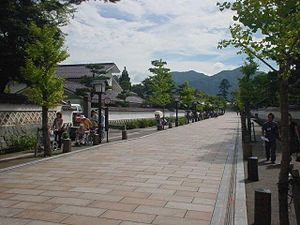 Tsuwano, Shimane - A street lined with historical buildings in Tsuwano