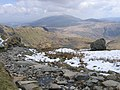 A view from the Pyg track towards Moel Siabod - geograph.org.uk - 774381.jpg