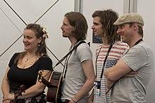 Aarzemnieki, ESC2014 Meet & Greet 04 (crop).jpg